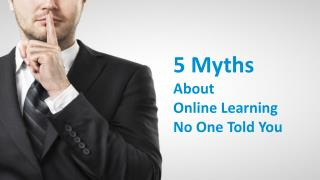 Take My Online Class Now: 5 Myths No One Told You