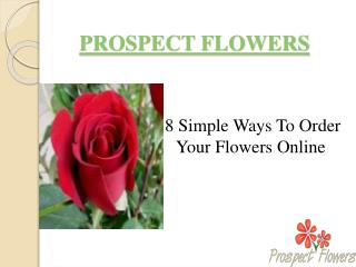Tricks for ordering wholesale flowers online