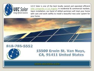 Solar Panel Companies in Los Angeles