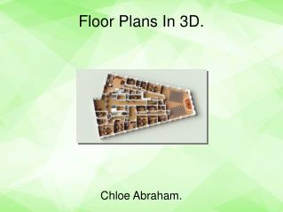 Cost effective floor plan in 3D only in New Mexico.