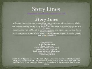 Story Lines app for free