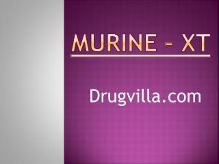 Murine-xt multivitamin at best price from Drugvilla