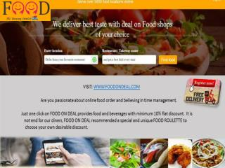 Foodondeal - New York Restaurants, Online Food Delivery