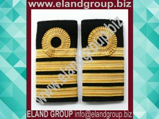 Navy Ranks Slide Captain , Gold Lace Ranks Slide