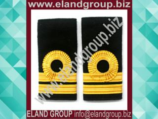 Royal Navy Rank Slide Lieutenant Lace Rank Slides