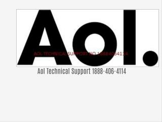Aol Technical Support Number 1888-406-4114