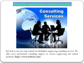 Technology product reliability testing services company
