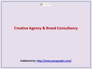 Creative Agency & Brand Consultancy