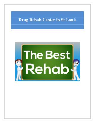 Best Drug Rehab Center