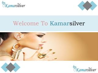 About Kamarsilver - The Worlds's Largest & Leading manufacturer of top quality 925 Sterling Silver Jewelry and Steel, Si