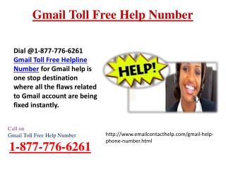 Call Gmail Helpline1-877-776-6261 In Case Of Any Trouble