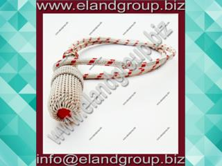 Silver & Red Sword Knot