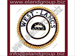 Masonic Apron Badge- WEST - LANCE