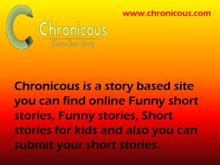 Funny Short Stories - Chronicous