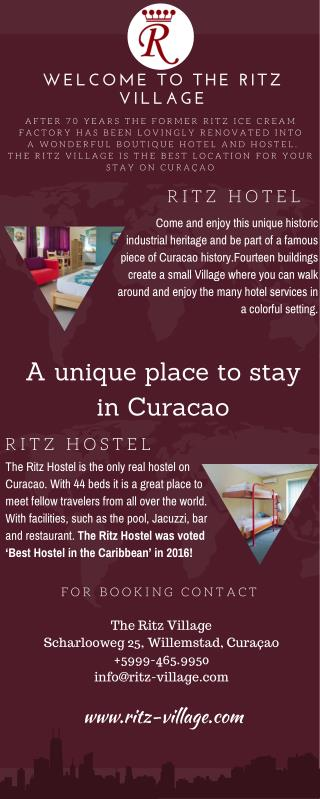 The Ritz Village - Only Best Hotel and Hostel in Curacao