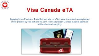 How to Get an ETA for Visit to Canada?