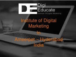 Digital Marketing Course in Hyderabad  Digieducate Digital Marketing training in Hyderabad