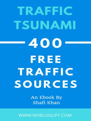 Traffic Tsunami - 400  High PR Traffic Sources to Generate Millions of PageViews