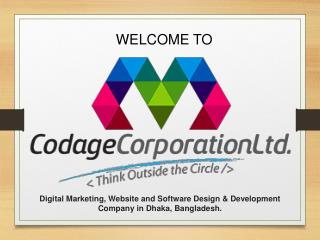 Software Design & Development Service - Codage Corporation Ltd