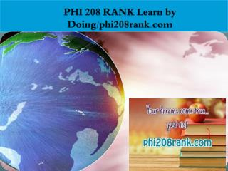 PHI 208 RANK Learn by Doing/phi208rank.com