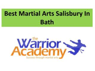 Best Martial Arts Salisbury In Bath