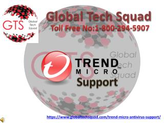 TrendMicro Antivirus Support | Toll free:-1-800-294-5907