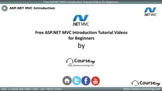 ASP.NET MVC Introduction Training