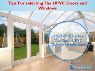 Find  Quality  Upvc  Stable Doors in Lucknow