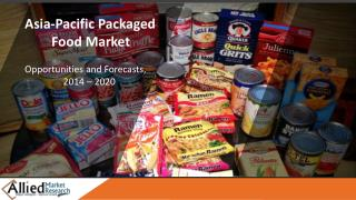 APAC Packaged Food Industry Trends and Forecast - 2020