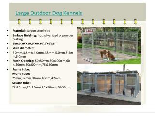 Dog Kennels catalogues-Durable Metal Products Co.,Ltd