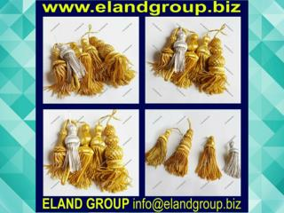 Bullion Wire Tassels
