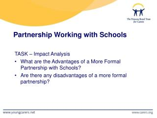 Partnership Working with Schools