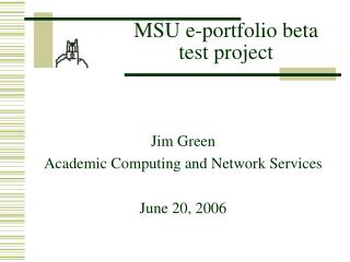 MSU e-portfolio beta test project