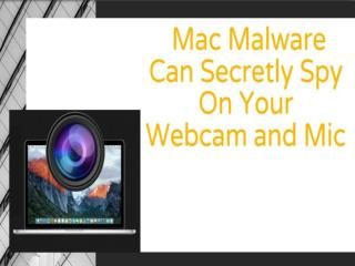 Mac Malware Can Secretly Spy On Your Webcam and Mic | CR Risk Advisory