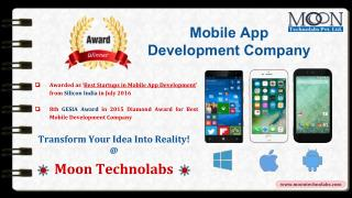 Top Best Mobile App and Web Development Company USA