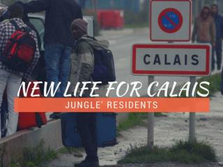 New life for Calais 'jungle' residents