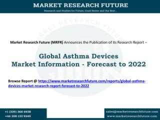 Global Asthma Devices Market Research Report- Forecast To 2022