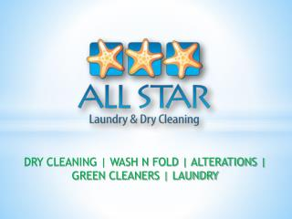 Alterations - All Star Laundry