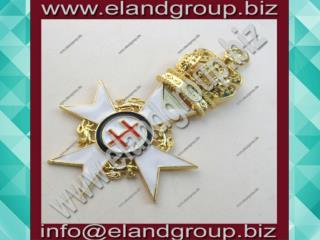 Knights Templar Past Preceptors Collarette Jewel