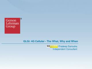 GLGi: 4G Cellular - The What, Why and When