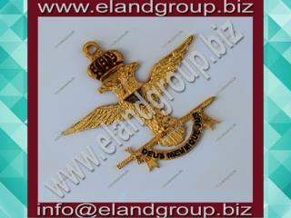 Masonic Scottish Rite 33rd Degree Eagle Collar Jewel Gold Plated