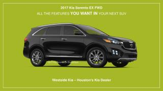 2017 Kia Sorento EX FWD in Houston