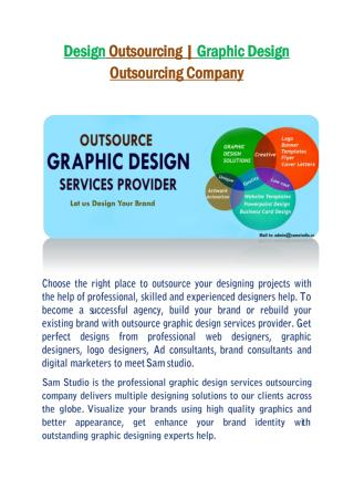 Design Outsourcing | Graphic Design Outsourcing Company