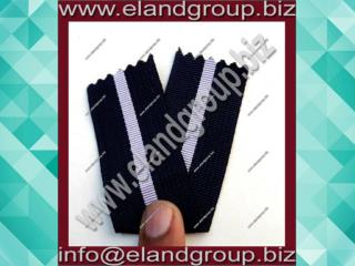 Medal Ribbon Black & White