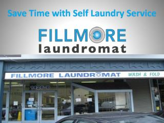 Save Time with Self Laundry Service
