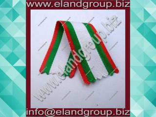 We deliver a Uniform Ribbons which is fabricated using qualitative raw material to ensure its color fastness and long la