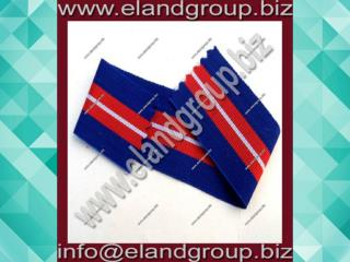 Military Rosette Blue & red Ribbon