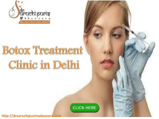 Botox treatment clinic in Delhi