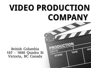 Creative video production Company in Vancouver