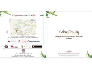 Lotus county ongoing residential projects for 1bhk 1.5bhk 2bhk 3bhk & 4 BHK | LLIPL